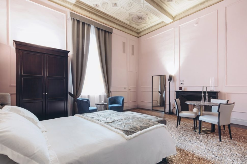 Rose suite Palazzo Gregorini Bingham - Art Luxury Suites - Bologna